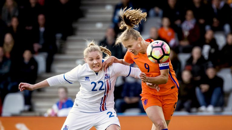 New Arsenal signing Vivianne Miedema will hope to impress in front of a home crowd