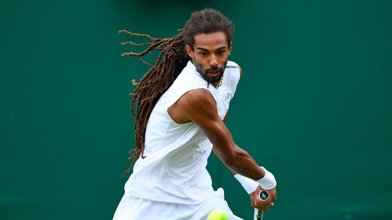 Dustin Brown is next up for the world No 1 at Wimbledon