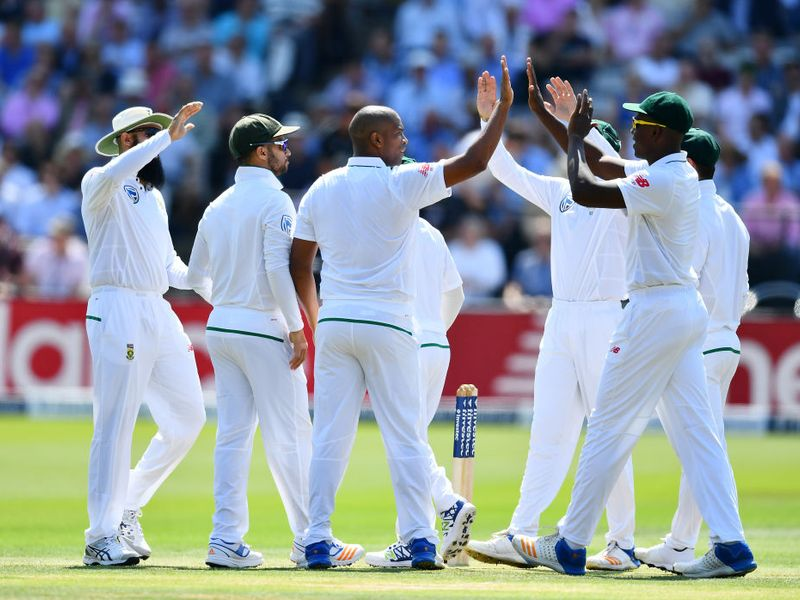 Vernon Philander struck early on day one to remove Alastair Cook
