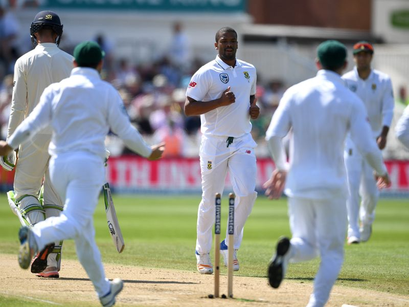 South Africa made a perfect start on day four as Vernon Philander removed Keaton Jennings