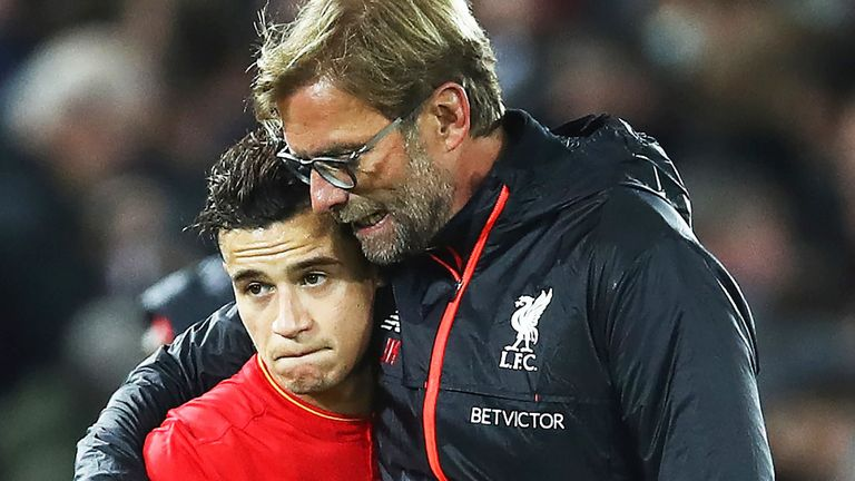 Klopp admits Coutinho's injury is a blow