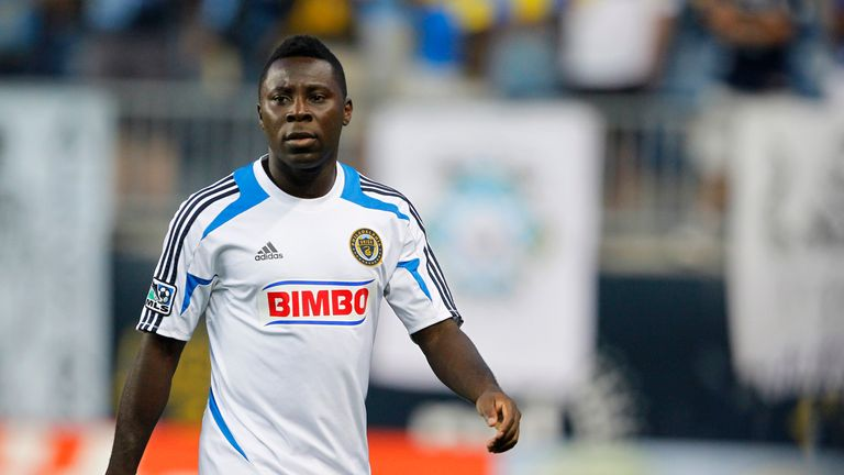 Freddy Adu won 17 international caps for the United States between 2006 and 2011