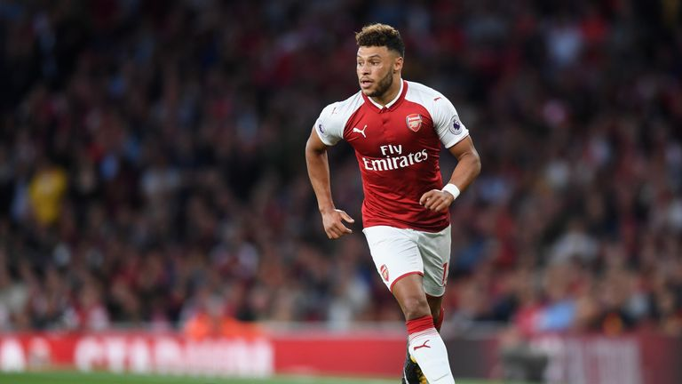 Alex Oxlade-Chamberlain is yet to sign a new contract at Arsenal