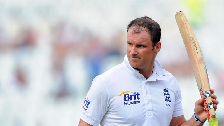 Andrew Strauss played exactly 100 Tests for England