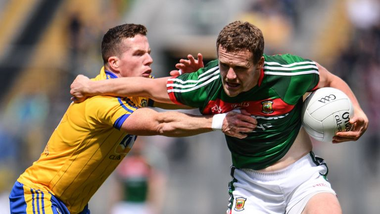 Andy Moran of Mayo was one of the stars of the 2017 GAA season.