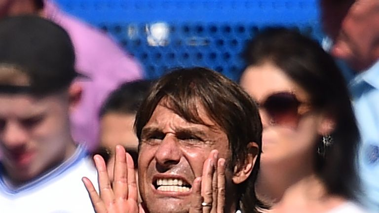 Antonio Conte was delighted with his team's winning mentality