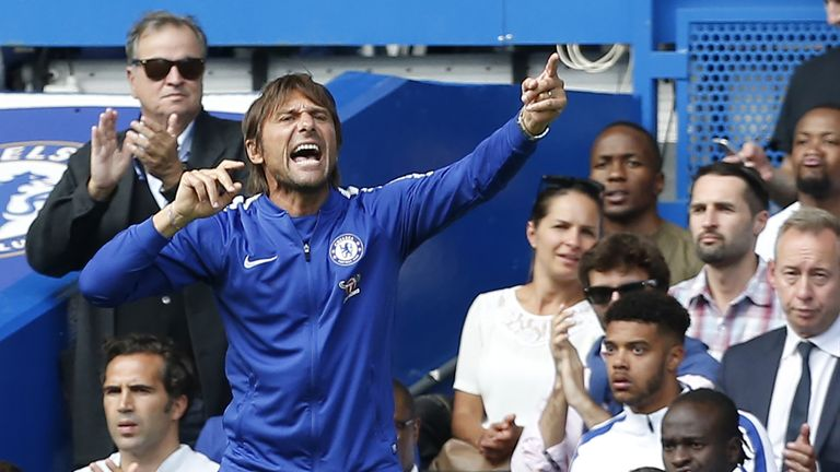 Antonio Conte has played down talk of discontent in the camp