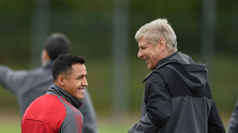Sanchez will also miss Arsenal's first away game of the season at Stoke, says Wenger