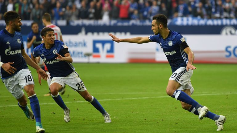 Schalke secured a 2-0 win against RB Leipzig