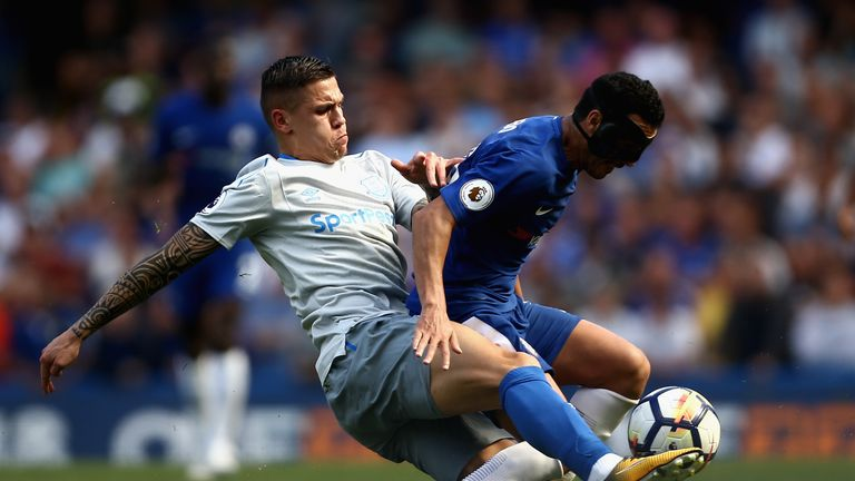 Besic has struggled to secure a regular first-team place at Everton