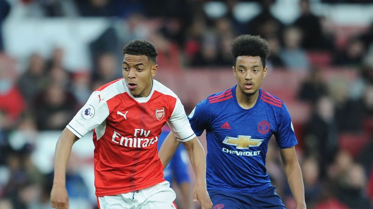 Cameron Borthwick-Jackson joined Manchester United as a trainee in 2015