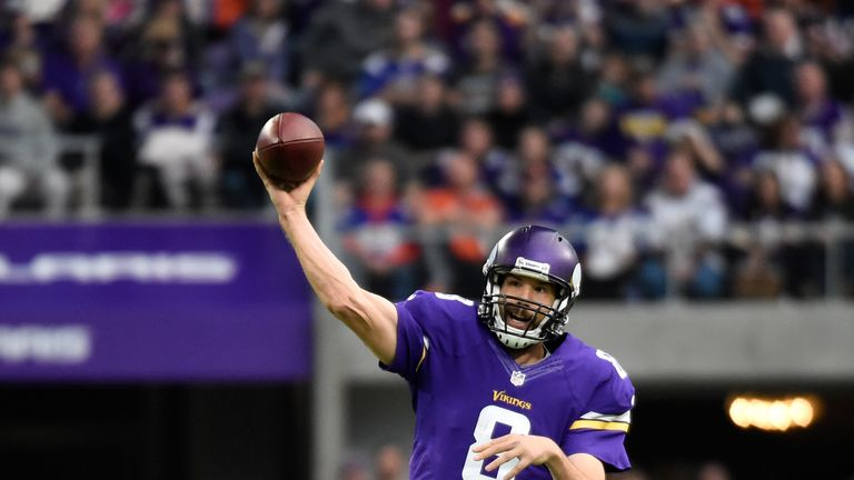 Sky Sports' Neil Reynolds believes Sam Bradford will have a strong second season with the Minnesota Vikings