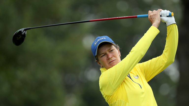 Catriona Matthew impressed as a late replacement for Suzann Pettersen in the Solheim Cup at Des Moines