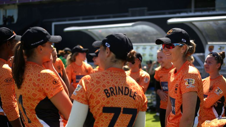 Charlotte Edwards (right) - her retirement from cricket is impending