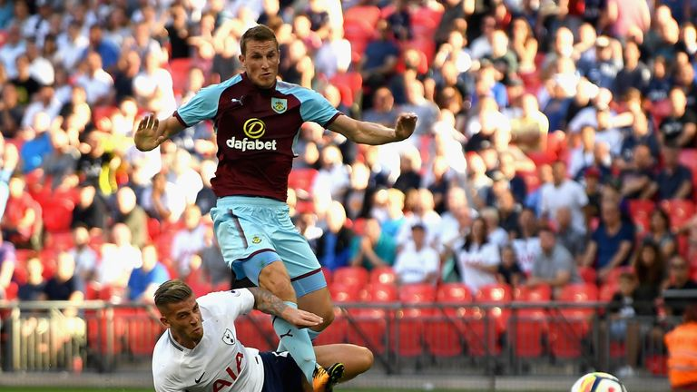 Burnley striker Chris Wood is keen to add to his Premier League tally