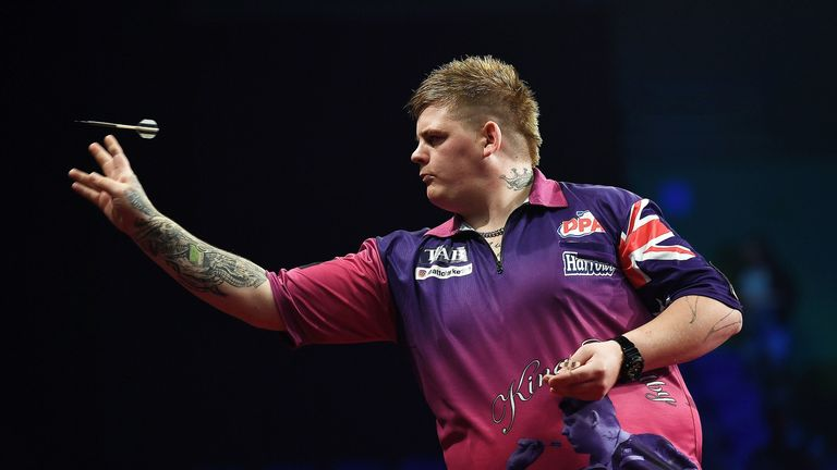 Corey Cadby secured a PDC Tour card for 2018 after battling through the first day of Q-School in Wigan