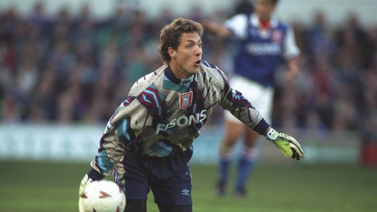 Ipswich Town goalkeeper Craig Forrest was one of many who had to adapt