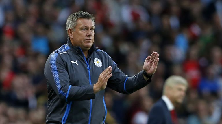 Craig Shakespeare's Leicester have just one win this season