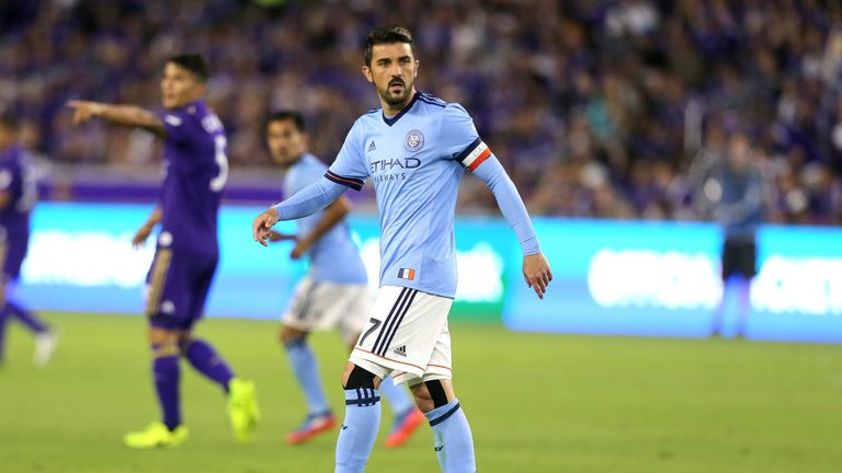 Villa has been in fine form for New York City FC
