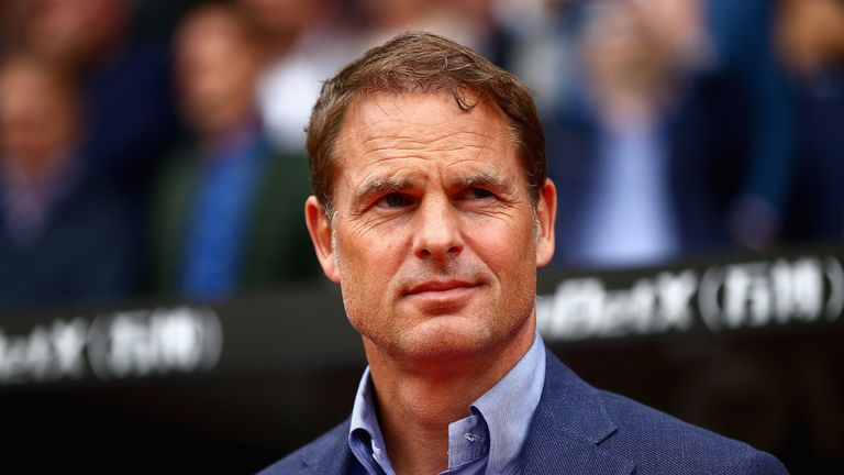 Frank de Boer says Crystal Palace are in need of some new additions before the summer transfer window shuts