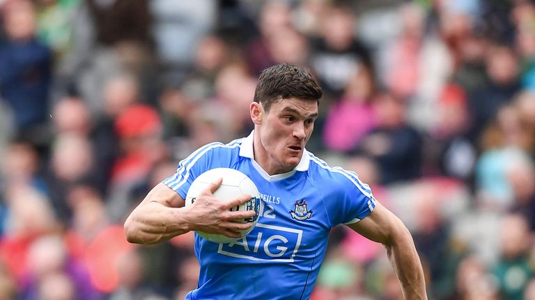 Diarmuid Connolly of Dublin may not start