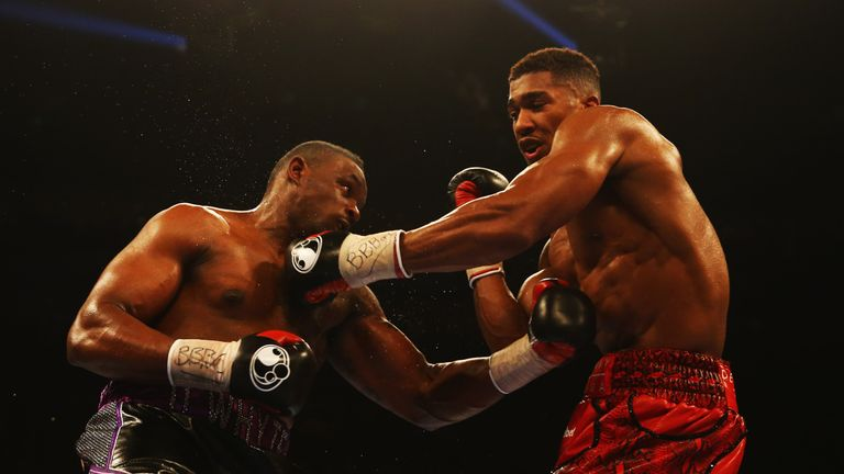 Joshua gives Whyte the edge in punching power against Parker