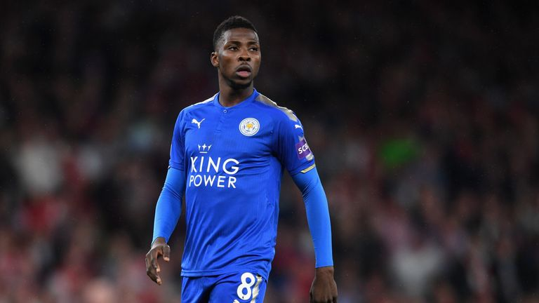 Kelechi Iheanacho has started just twice in the league since signing for £25m