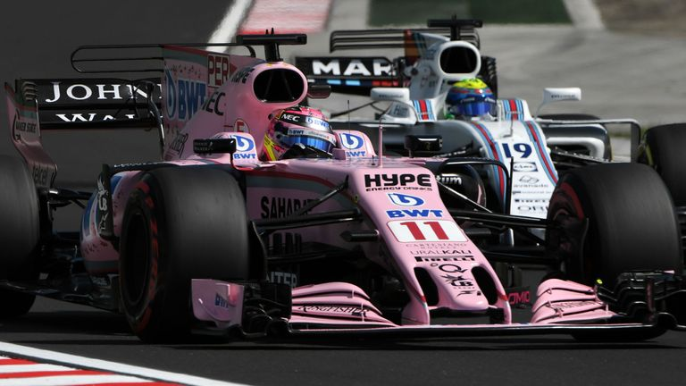 Williams are 65 points behind Force India in the Constructors' Championship