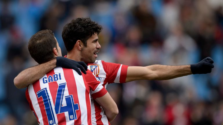Atletico Madrid remain in discussions to sign Chelsea's Diego Costa