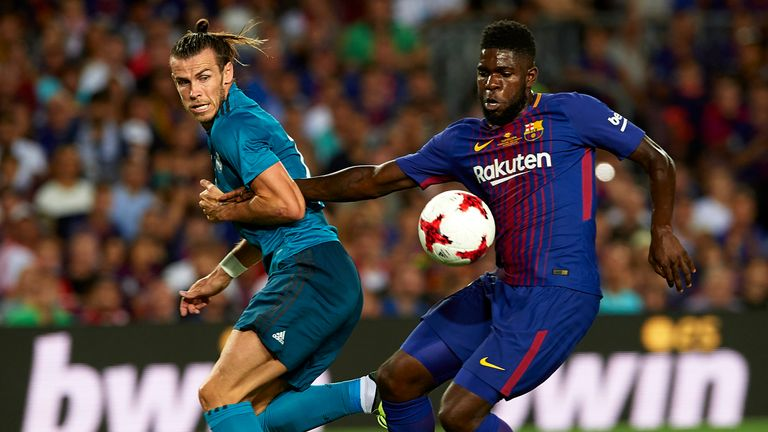 We are now looking at the Barca of defenders, as epitomised by centre-back Samuel Umtiti (right)