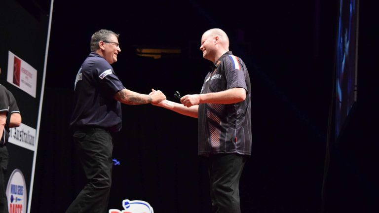 Raymond van Barneveld pushed the Scot all the way in the final