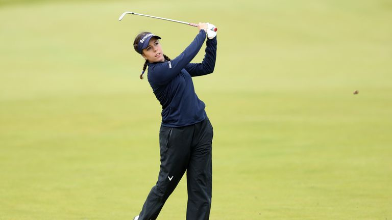 Georgia Hall fired a final round two-under 70