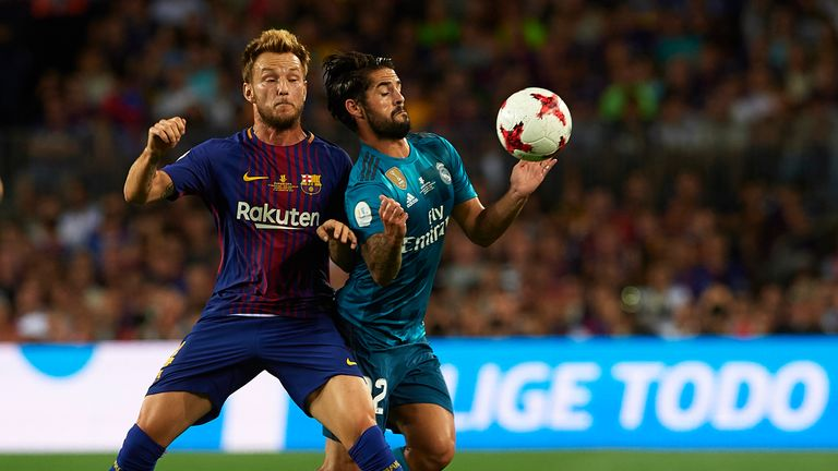 Barcelona face Real Madrid on Sky Sports Football from midday on Saturday