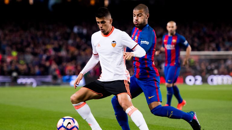 Chelsea are interested in signing Joao Cancelo from Valencia