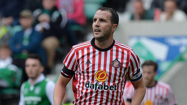 John O'Shea will leave Sunderland at the start of July