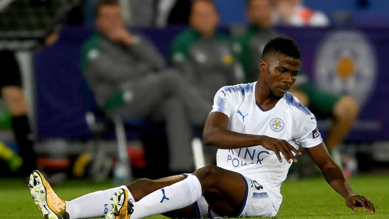 The Nigeria international suffered a slight injury during his debut against Borussia Monchengladbach on Saturday