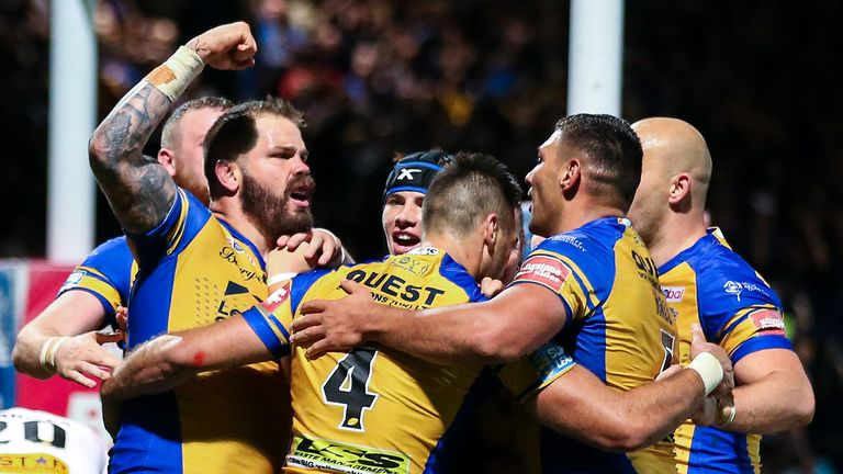 Cuthbertson was part of the Leeds side that won Super League 2017