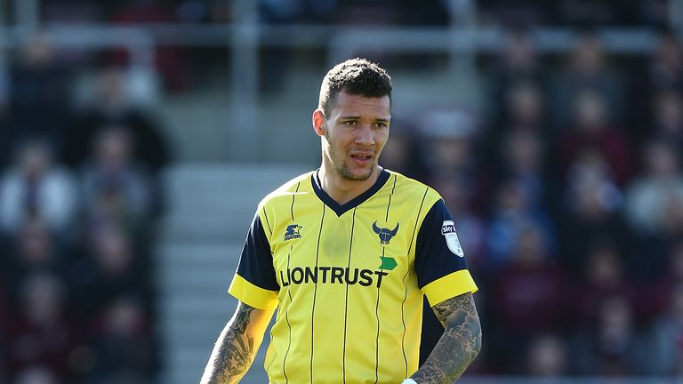 Marvin Johnson was a fans' favourite during his first spell at the Kassam Stadium