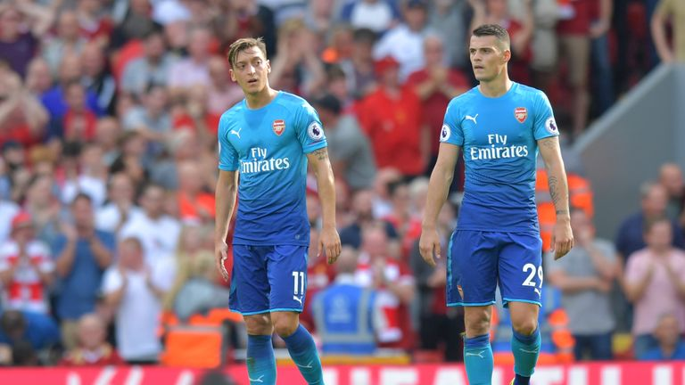 Arsenal were comprehensively beaten by Liverpool 4-0 before the international break