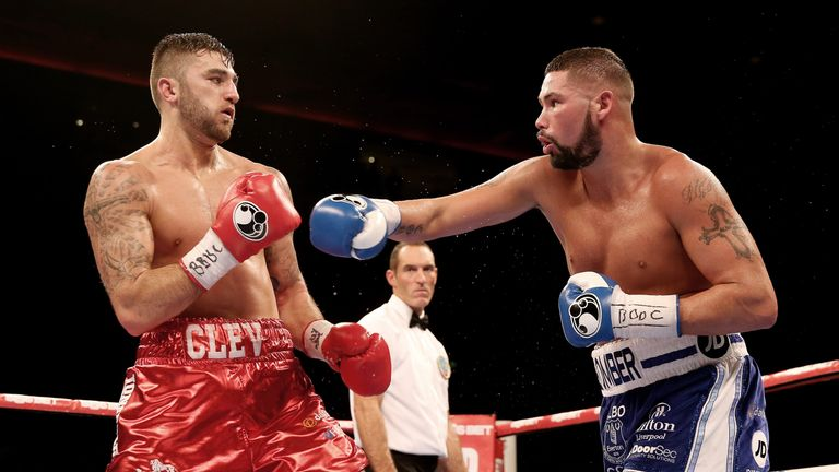 Nathan Cleverly has shared the ring twice with Tony Bellew