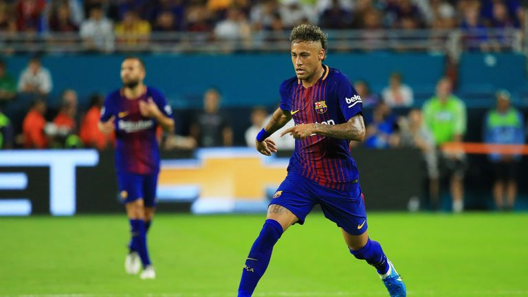 Neymar, his parents, Barca president Josep Maria Bartomeu and his predecessor Sandro Rosell are all awaiting trial over alleged corruption concerning Neymar's move to Barca
