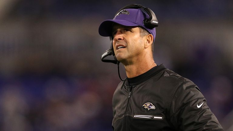 Reynolds highlights the influence of the Baltimore Ravens head coach John Harbaugh