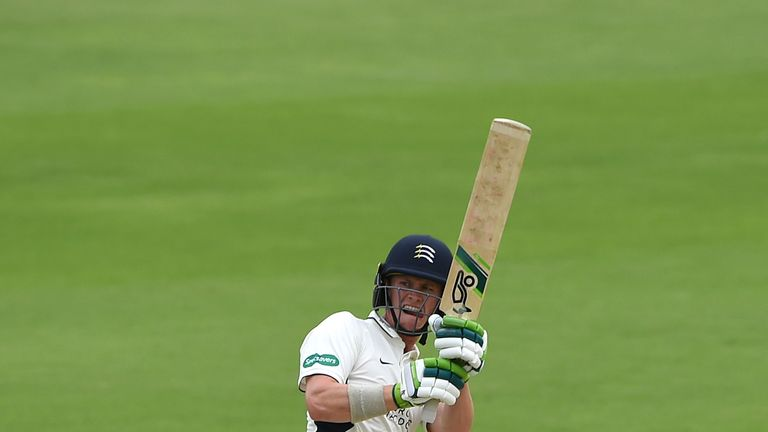 Nick Gubbins scored 38 in Middlesex's second innings