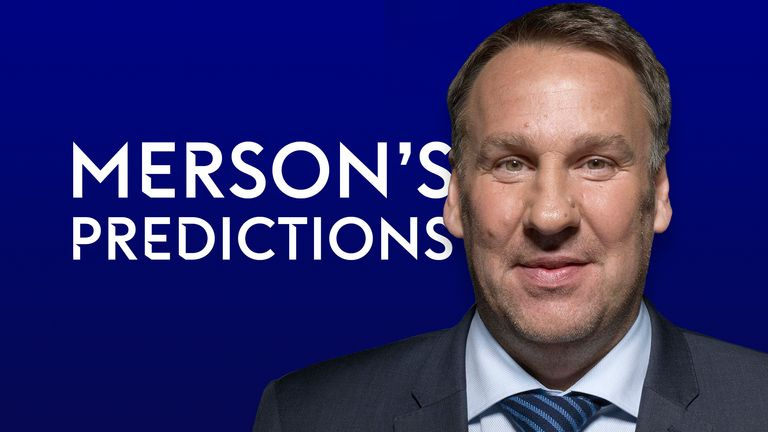 Paul Merson reveals his latest round of Premier League predictions