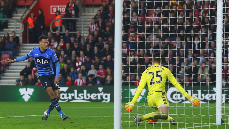Paulo Gazzaniga's last Premier League outing was a 2-0 home defeat to Spurs