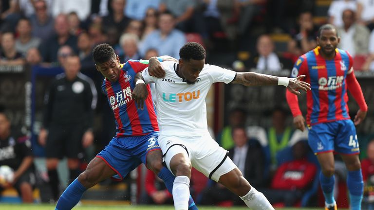Swansea won 2-0 at Crystal Palace in August