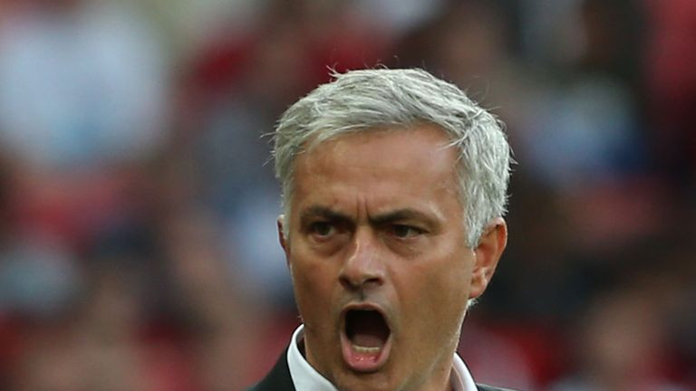 Jose Mourinho described Manchester United fans as 'quiet' during his side's win over Leicester