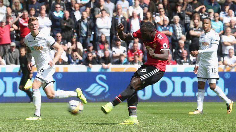 Lukaku has already scored three Premier League goals for United