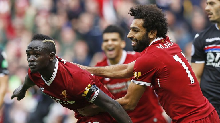 Sadio Mane scored the only goal of the game as Liverpool edged past the Eagles