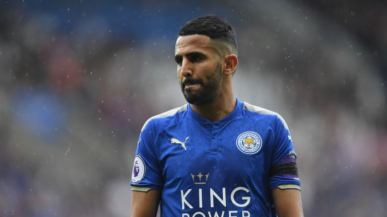 Riyad Mahrez failed to report for Leicester training on Thursday